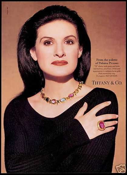 Fashion And Jewelery Designer Paloma Daughter Of Famous Artist Pablo