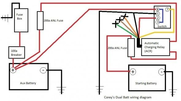 Automatic Charging Relay Wiring Diagram from i.pinimg.com