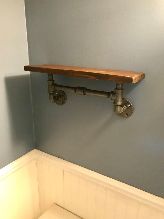 24 estante hechas de madera recuperada y por HamptonIndustrial