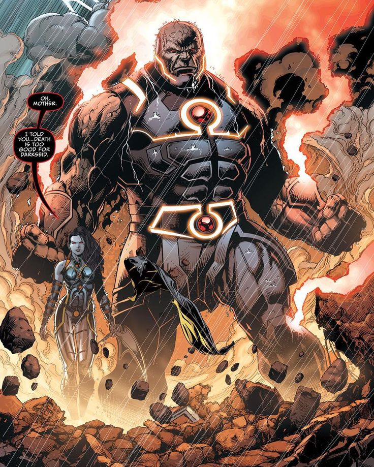 Darkseid is back and ready to solo verses. He has the power of the Omega Effect Anti Life Equation Life Equation The knowledge of the Möbius Chair God Of Death Flash's Powers God Of Strength SuperMan's Power God Of Apokolips' power and so on and so forth. Absolute savage. He has the power of the Omega Effect Anti Life Equation Life Equation The knowledge of the Möbius Chair God Of Death Flash's Powers God of Strength SuperMan's Power God of Apokolips' power and so on and so forth. Fucking…