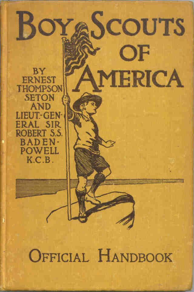 Boy Scouts of America, official handbook