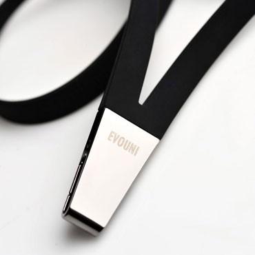 ide-home Store - Evouni Zinc alloy clip Stylish Lanyard - Black