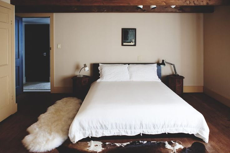 Hotel Tour: A Rustic Inn's Guest Rooms & Cottage | Apartment Therapy