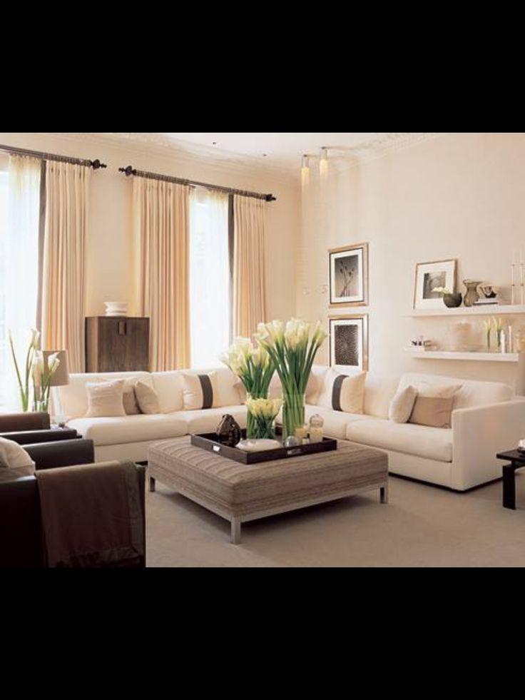 11 best living room images on pinterest living room for Elegant neutral living rooms