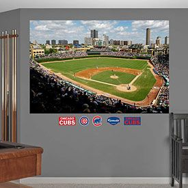 Get This Chicago Cubs Inside Wrigley Field Mural At WrigleyvilleSports.com Part 46