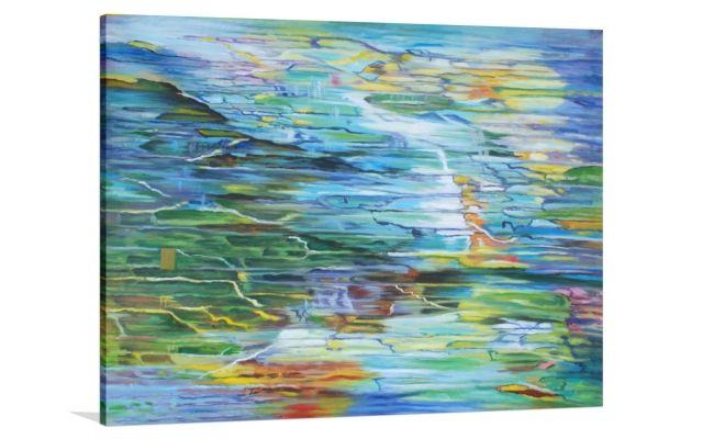 REFLECTIONS [3994988-12] - $399.00 | United Artworks | Original art for interior design, buy original paintings online