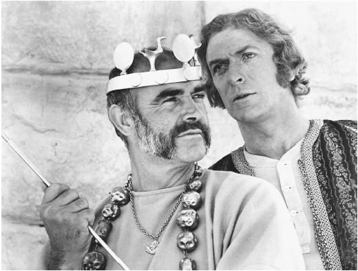 Sean Connery with Michael Caine in The Man Who Would Be King - 1975. #ConneryDay