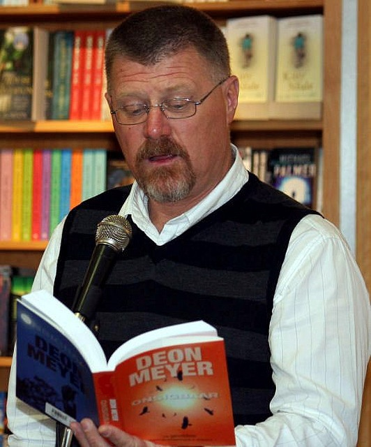 Deon Meyer by Books LIVE, via Flickr