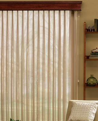 Bali Sheer Enchantment Blinds In Voile Style Are Elegant