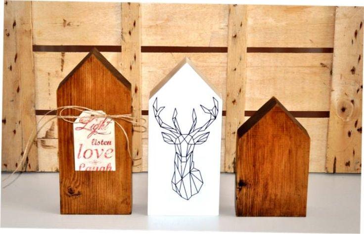 Skandynawskie drewniane domki od Wooden Love