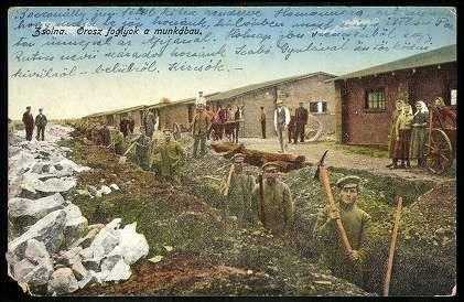 Zsolna; Orosz foglyok a munkában | Gallery | Hungaricana