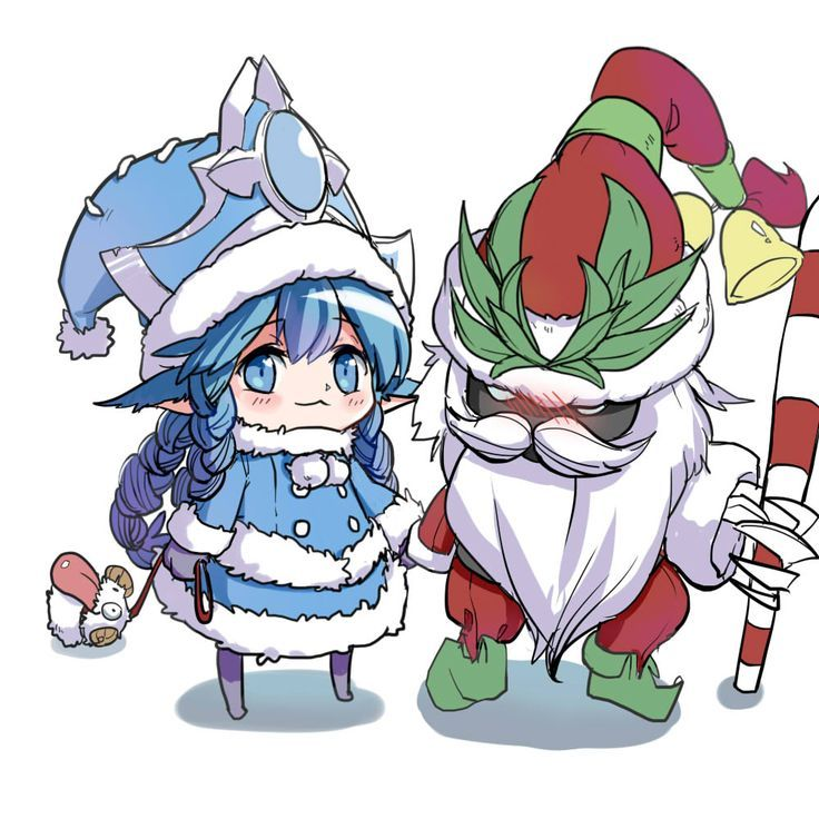 Lulu and Veigar que lindos