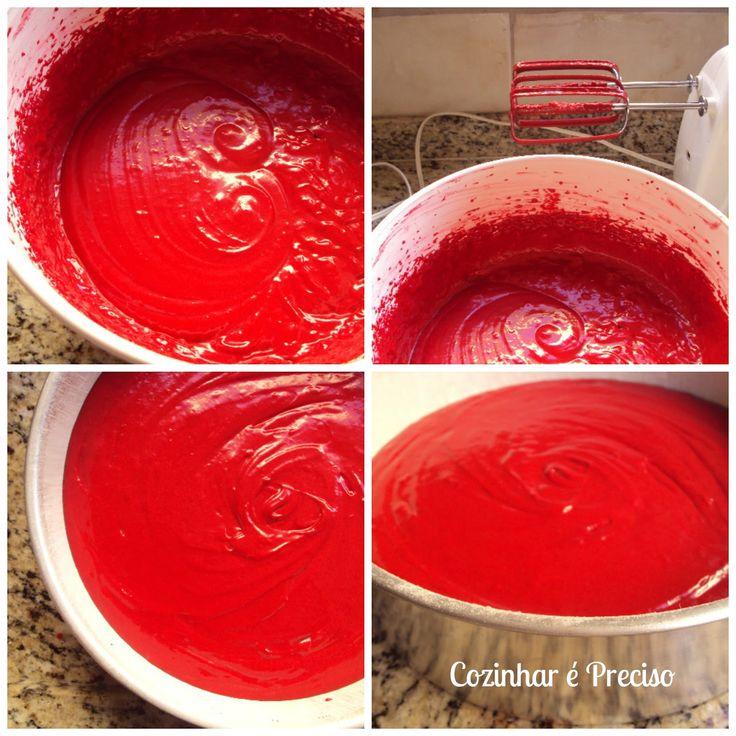 Red Velvet Cake ~ Bolo Veludo Vermelho | Cozinhar é Preciso