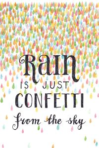 Dansen in de storm | Life isn't about waiting for the storm to pass, it's about learning to dance in the rain
