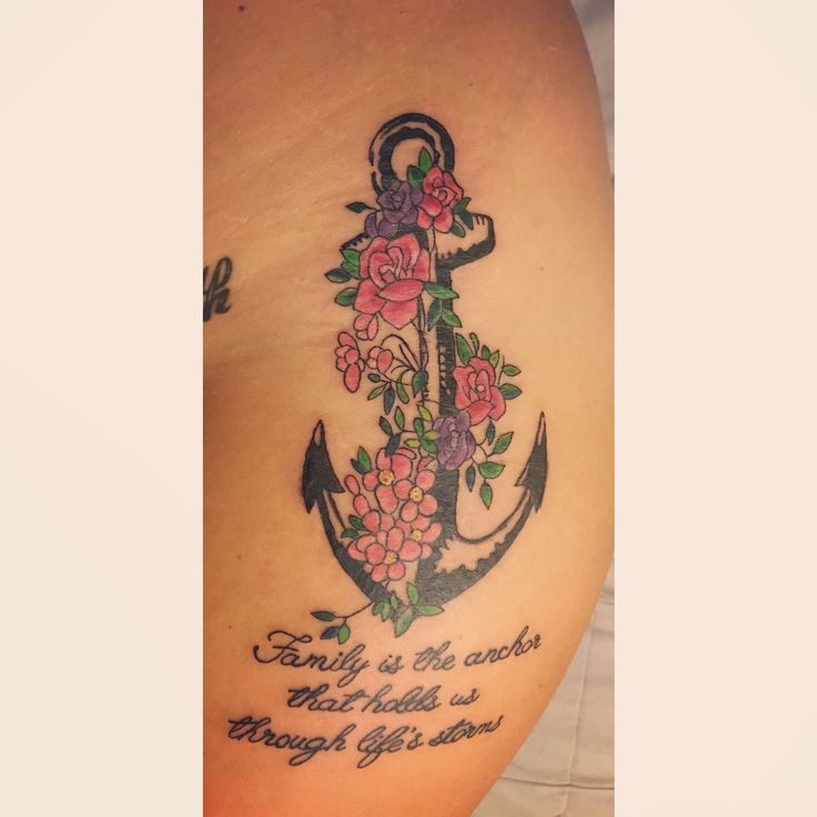 Anchor Tattoo Ideas With Quotes