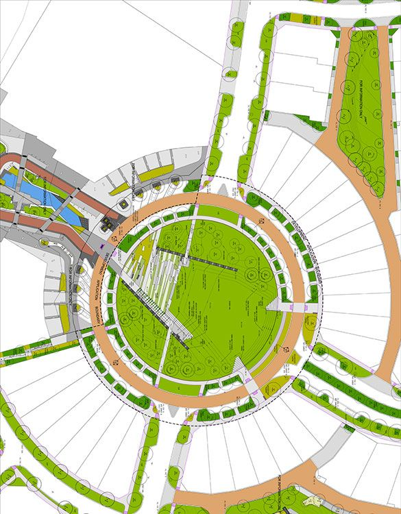 PeninsulaBurswood_HASSELL_Plan_01 « Landscape Architecture Works   Landezine Landscape Architecture Works   Landezine