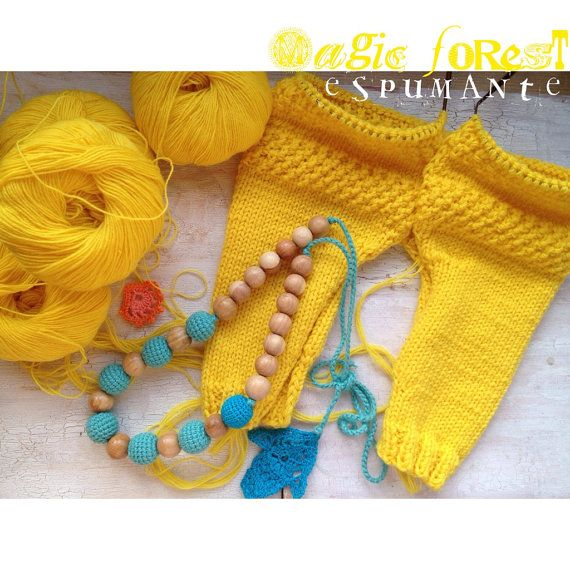 baby shower gift / Teeting Necklace for Breasfeeding от espumante