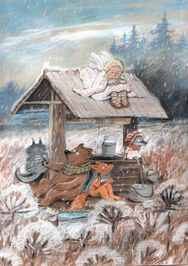 Художница, которая рисует уютные сказки. Они согреют вас этой холодной осенью (21 фото)