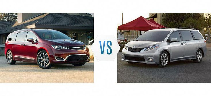 Chrysler Pacifica VS Toyota Sienna – War of The Minivans?