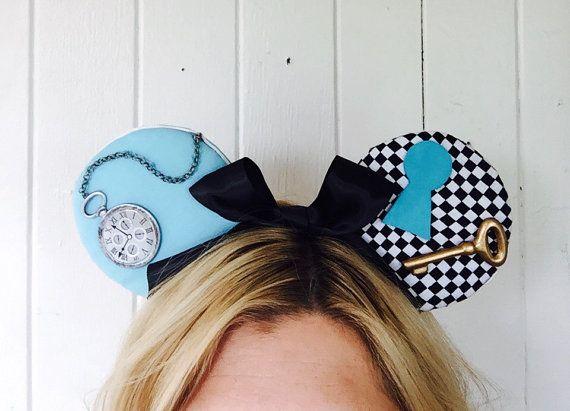 Alice Disney Ears Alice in Wonderland Alice by ToNeverNeverland