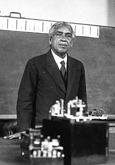1926 Pic-JagadishChandraBose (1858-1937) Bengali Polymath