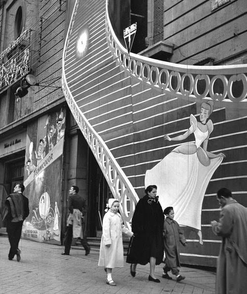 Madrid 1950 Photo- Francesc Català-Roca