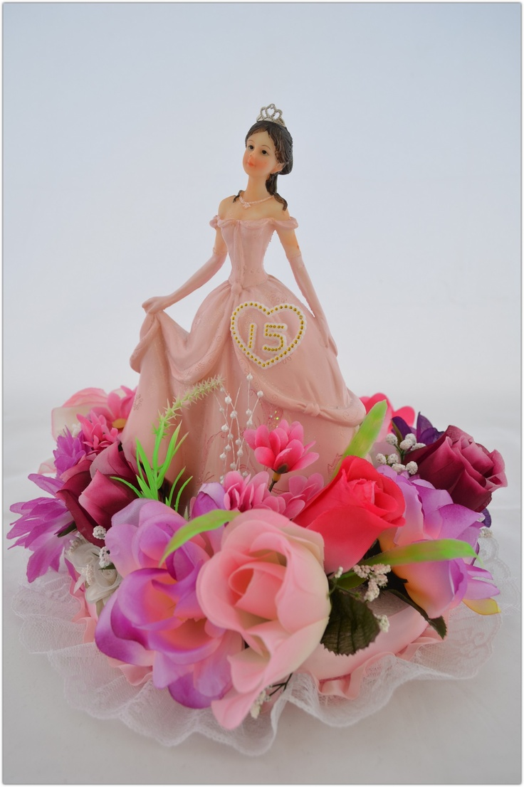 Centerpiece Quinceanera * Sweet 16 * CM_011  http://stores.shop.ebay.com/Favors-Centerpieces-E-C-The-Twins