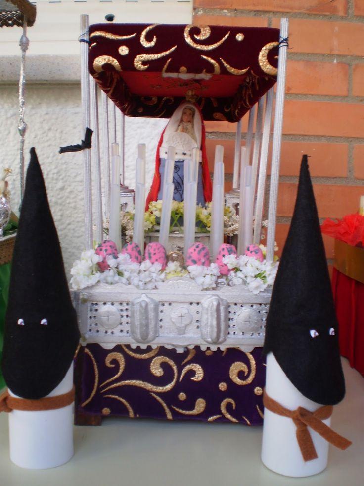 Colegio concertado Nuestra Señora de Lourdes- Carmona: SEMANA SANTA EN MINIATURA