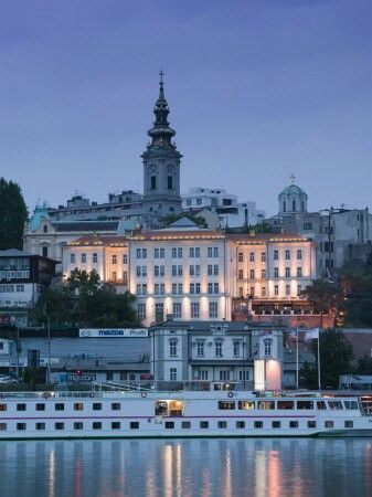 Belgrade, Serbia. Danube river. Beograd, Srbija. Dunav.