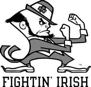 notre dame fighting irish coloring pages fighting irish coloring pages and irish on pinterest