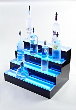 back bar lighting Ideas eclectic bar tables
