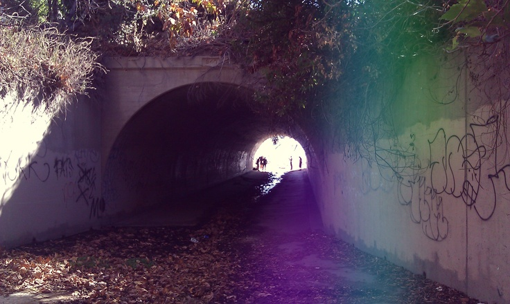 Isadore - Can you see the light at the end of the tunnel? #cyclingmemories