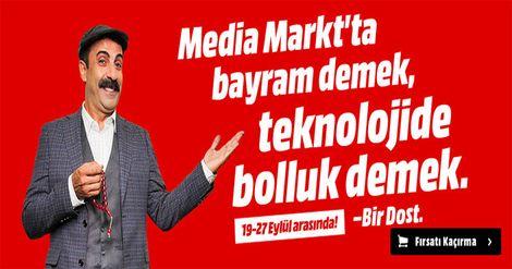 Media Markt Bayram Fırsatları  Media Markt'ta bayram demek teknolojide bolluk demek, fırsatları kaçırma! https://netlioo.com/r/gegfd