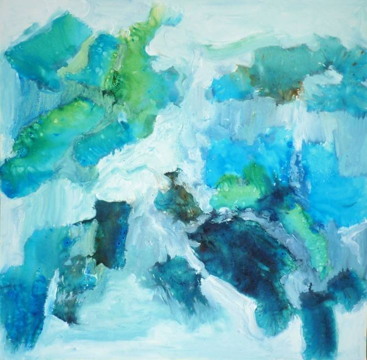 Buy With the Green World they Live In, a Watercolor on Canvas by Evie Kitt from United Kingdom. It portrays: Landscape, relevant to: painterly, planet, blue, storm, world, brush stroke, cloud, evie kitt, earth, green, contemporary landscape, landscape This square, thick-edge work on canvas is an easily hung piece that can be supplied with white mirror plates for ease of display if preferred.  Displayed at The Other Art Fair at the Arnolfini, September 2017.  The work is a contemporary…