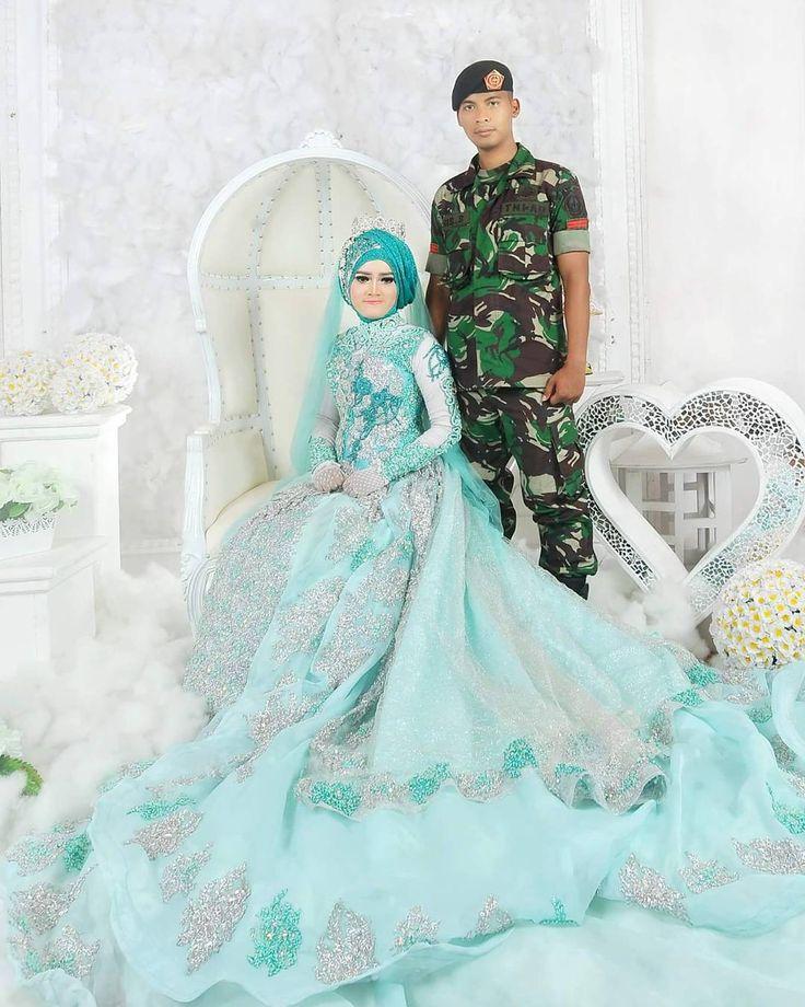 "689 Suka, 8 Komentar - ASRI HIJAB (@asri_hijab_wedding_organizer) di Instagram: ""JUJUR ITU INDAH Pengantin asli ASRI HIJAB _RIAS PENGANTIN KHUSUS HIJAB, SPESIALIS MAKE UP NO…"""