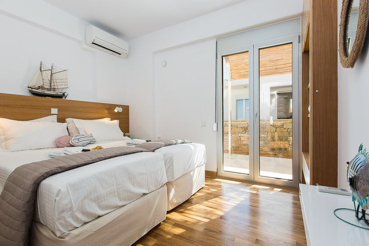 www.thalasses.com                                Thalasses Villas , Villa Persi in Pigianos Kampos, Rethymno, Crete, Greece #vacation_rental #thalasses_villas #4_luxurious_villas #villa_Persi #luxurious_accommodation #summer_holidays #privacy #summer_in_crete #Visit_Greece #indoors #bedroom