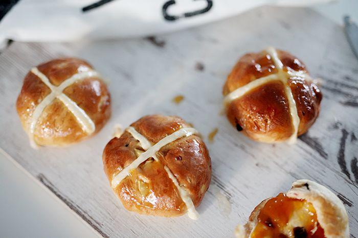 Moja kuchyňa: Hot cross buns