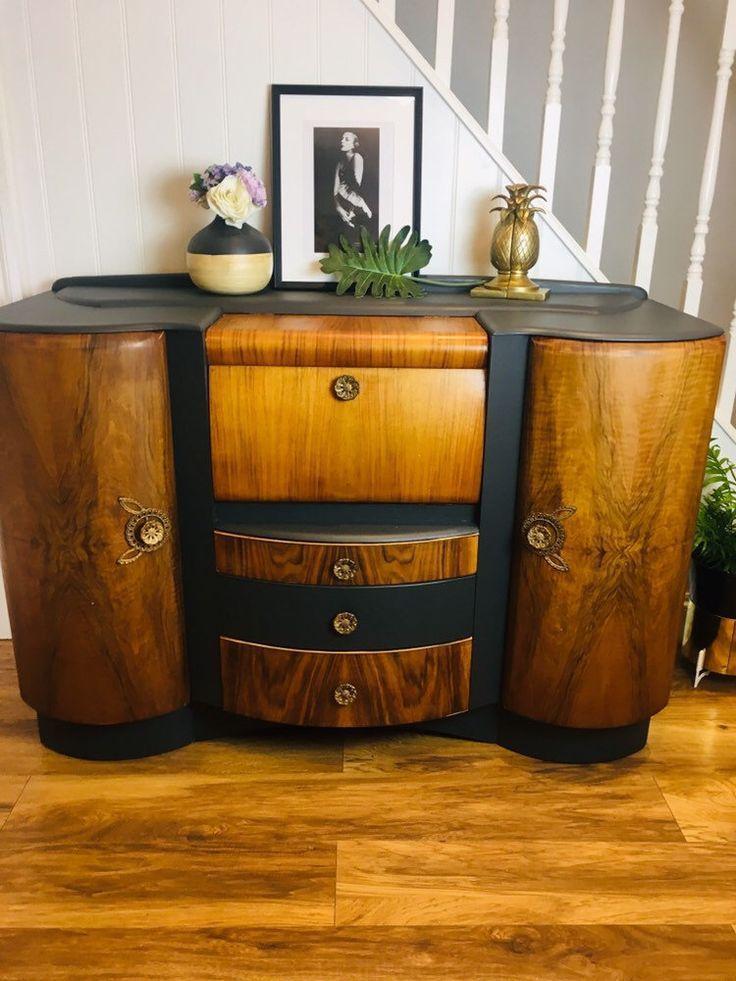 Vendido Vendido Vendido Armario De Cocteles Art Deco Armario De Cocteles De 1940 Armario De Cocteles Art Deco Cabinet Art Deco Home Art Deco Dressing Table