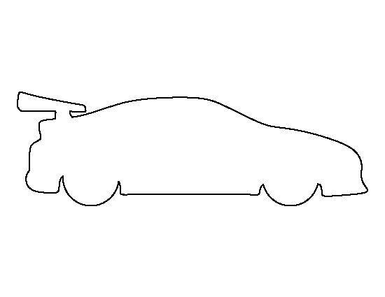 10 best race car images on Pinterest Race car coloring pages - printable car template