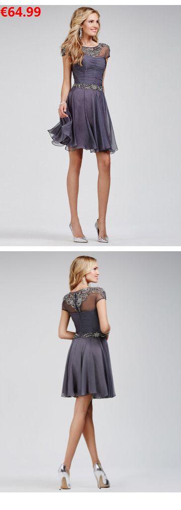A-Linie U-Ausschnitt Chiffon schöne Abendkleider Abiballkleider günstige                                 Specifications                                              ÄRMELLÄNGE          Kurze Ärmel                                  AUSSCHNITT          U-Ausschnitt                                  RÜCKEN          Reißverschluss                                  Saumlänge/Schleppe          Kurz/Mini   #princess#model #laceweddinggown#sayyes#duisburg#kleider günstig