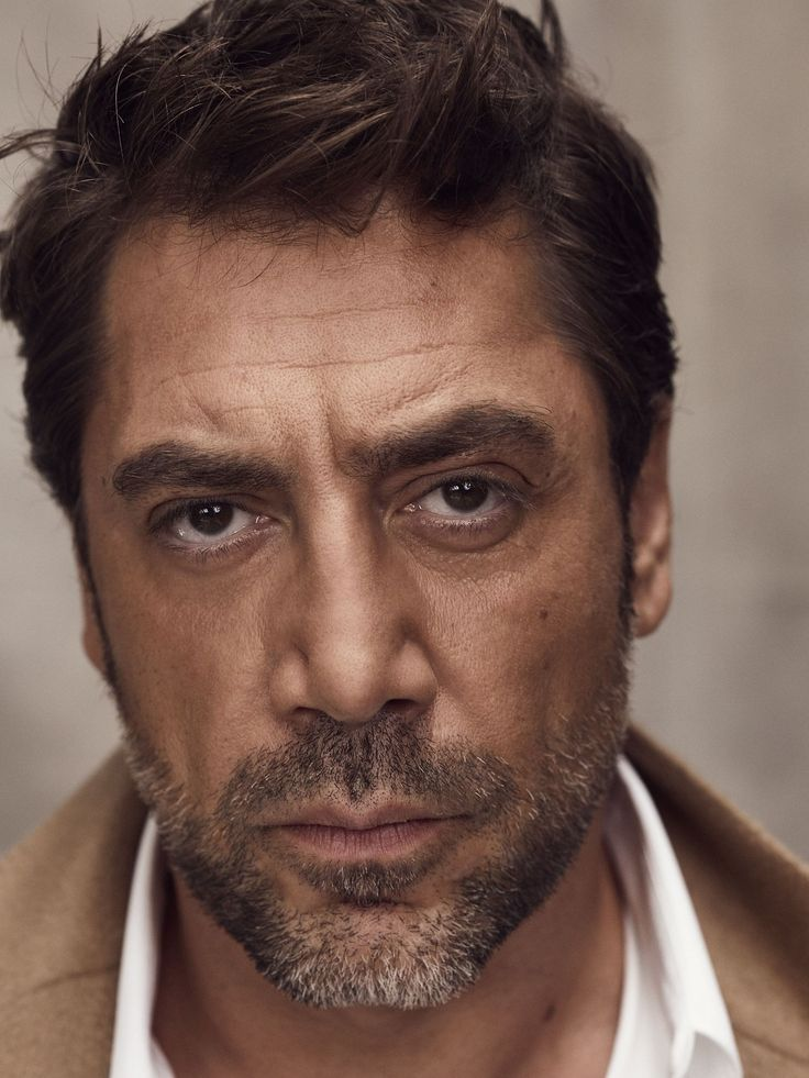 Javier Bardem photographed by Nico Bustos for GQ UK, June 2017.