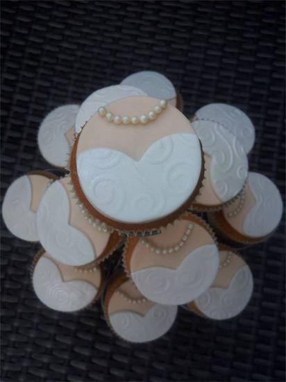 bruid cupcakes