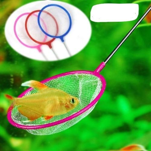 Aquarium Fish Tank Round Fish Net for Small Fish #Unbranded