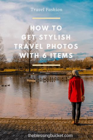 How to get stylish travel photos with these 6 items #travelblogger #womensfashion #travelmusthaves