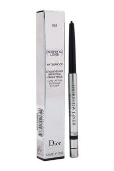 diorshow waterproof long-lasting backstage eyeliner - # 098 carbon by christian dior 0.01 oz