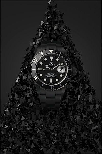 Rolex- Black on Black