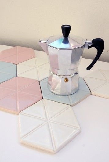 How about using the tiles as a trivet?