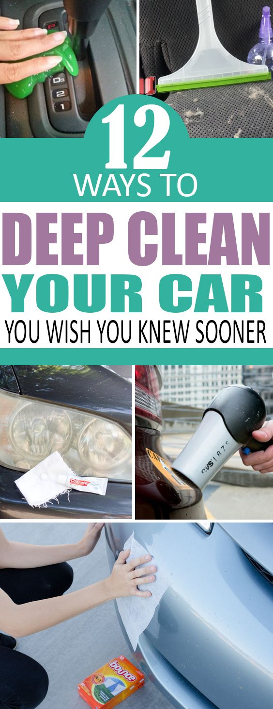 12 Budget-Friendly Ways To Deep Clean Your Car