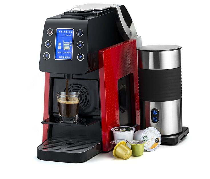 Gourmia One Touch Multi Capsule Coffee Machine Best Price. -Progressive COFFEE MACHINE FIRST TIME EVER! Inventive espresso focus that is perfect with k-mug and Nespresso units across the board! Killing the requirement for two separate machines!  -Across the board COFFEE: Enjoy the comfort of numerous brand espresso units including K-Cups, or a rich fulfilling coffee with a Nespresso case, across the board refined machine.  -Incorporates MILK FROTHER: For a taste that opponents your most…