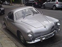 The Volkswagen Karmann Ghia is a 2+2 coupe and convertible marketed from 1955 to 1974 by Volkswagen